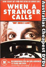 When A Stranger Calls  DVD NEW, FREE POSTAGE WITHIN AUSTRALIA REGION ALL