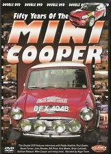 50 Years of the Mini Cooper Double DVD - 1961 Cooper to 2011 Prodrive WRC *NEW