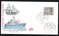 Germany 1965 event cover Philatelist exhibition Munchen Belgian hall,Ships