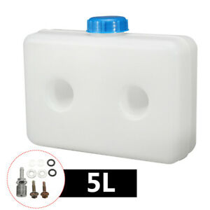 5L Plastic Gasoline Fuel Oil Tank Kits For Truck Boat Air Diesel Parking Heater