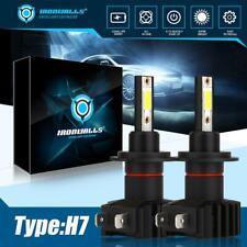 IRONWALLS H7 LED Headlight Conversion Kit 2000W 300000LM Lamp Lights Bulbs 6000K
