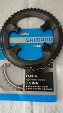52 / 36 Shimano Dura Ace 9100 Chainrings Mid-compact 4 DuraAce Crankset //9000