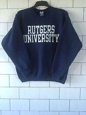USA Urbain Rétro Vintage Bleu Marine Champion Sweat-shirt Pull taille L #94