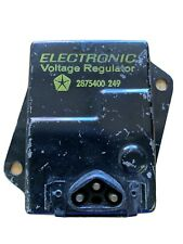 Chrysler Imperial Plymouth 3 Pin Electronic Voltage Regulator 2875400 1969