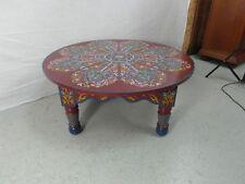 Tisch Sofatisch filigran Malerei Marokko Salontisch Antik Stil Massiv Orient