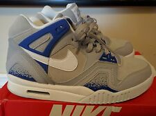 Nike Air Tech Challenge II Size 8.5 318408-014 Grey White Royal Andre Agassi
