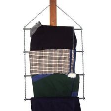Blanket Bar Saddle Pad Towel Rack Portable Rod - 4 Tier Rail with Chain Hanger