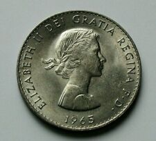 1965 UK (British) Elizabeth II Crown Coin - AU toned-lustre - Winston Churchill