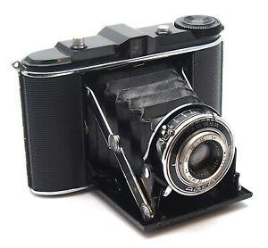 Vintage Agfa Isolette Original Folding Camera - Jgestar 8.5cm F6.3 - UK Dealer