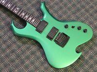 RARE 2006 BC Rich USA Custom Shop Wave Standard Guitar Green! w/OHSC&COA