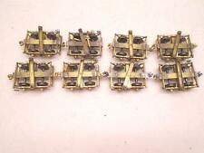 Precision Scale/other brands O scale brass 4 Wheels Log cars(8), mf1