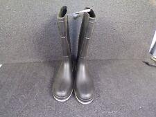 "15""H Men's Knee Boots, Steel Toe, Polyblend PVC Upper, Black, size 15 (K)"