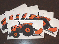 "Set of 6 ""KUBOTA"" Fans - Original Artwork DECAL/STICKERS ""Tractor Swag Series"""
