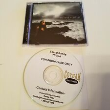 A Way to Hide Scar'd Sanity 2006 Gotham Dist and Bleed Promo CD Single