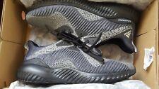 Men's Adidas Alphabounce HPC AMS Black Running Athletic Sport Shoe  - size 10
