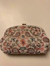 Josef Vintage Hand Beaded Evening Bag Made In France