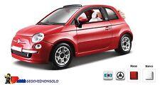 BBURAGO 21052 - FIAT 500 CABRIO 1-24