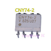 10 PCS CNY74-2 DIP-8 Multichannel Optocoupler with Phototransistor Output
