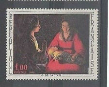 1966 G. DE LA TOUR large french stamp - MNG - see scan
