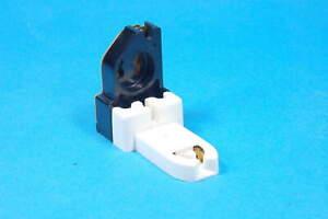 Lot of 2 CHALLENGER 9219 - 391-1W Medium Base Bi-Pin Fluorescent Lampholder New