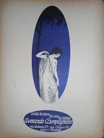 RIVISTA 1920 '' PER CANTARE '' VERSI, PROSA, MUSICA, PUBBLICITA' ART NOUVEAU