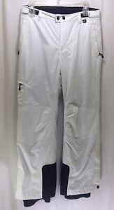 REI Girls Large (14-16) Nylon Ski Snow Pants White TS0 Excellent Condition