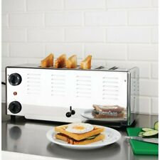 More details for brand new rowlett commercial  premier 6 slot toaster 3kw 225(h)x460(w)x210(d)mm