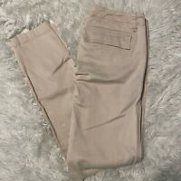 "J Crew Womens Size 24"" Light Pink Big Front Pocket Pants 28"" Inseam EUC"