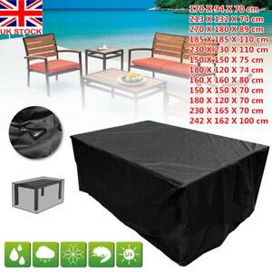 12 Sizes Heavy Duty Waterproof Garden Patio Furniture Cover Outdoor Rattan Table