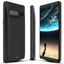 BrexLink Galaxy Note 8 Battery Case,5500mAh Charging External Battery Pack Black