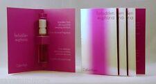 Calvin Klein FORBIDDEN EUPHORIA for Her EDP Spray Samples .04 oz LOT of 4 FRESH!