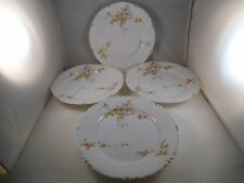 Vintage RC Rosenthal Versailles Bavaria Set of Four Salad Plates Flowers