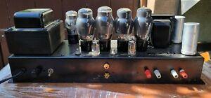 Baldwin Organ 6L6G 6L6G 5U4GB 12AU7 Stereo Tube Amp Amplifier Exct Works RCA