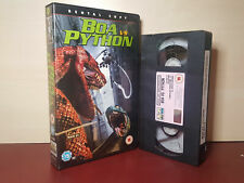 Boa Vs Python - Big Box PAL VHS Video Tape