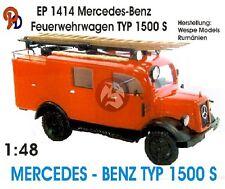 Peddinghaus 1/48 Mercedes-Benz Typ L 1500 S (LLG) German Fire Truck WWII 1414