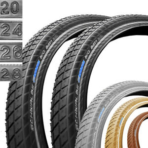 Schwalbe Fahrrad Reifen Little Big Ben SBC //// Alle Gr/ö/ßen Farben