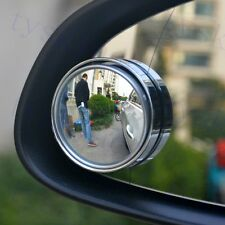 2PCS Auto Accessories Blind Spot Mirror Adjustable Wide Angle Round Convex