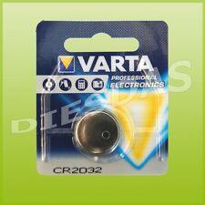 10 Stk. Varta CR2032 Lithium Mangan Knopf Batterie 3 Volt DL2032 LiMn 1er Bliste