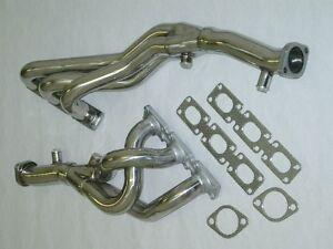 Burstflow Collecteur/Raccord Coudé Inox Pour BMW E46 320i 325i 330i Ci Xi Ti