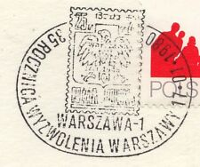 POLAND 1980 008 POSTMARK The stamp of 1944