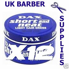 Dax Wax Blue Short and Neat- 1 Dozen (12) 99g Tin