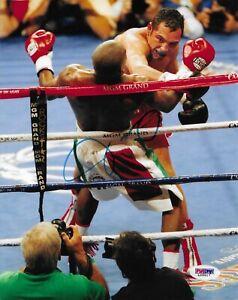 Oscar De La Hoya Signed 8x10 Photo Autographed PSA/DNA COA Olympic Gold Medal 7