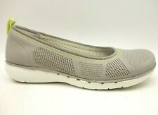 Clarks Artisan Unstructured Gray Breathable Upper Casual Loafers Women's 9.5 W