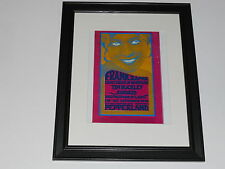 "Framed Frank Zappa Pepperland 1970 Tour Print Poster 14"" by 17"" Tim Buckley"
