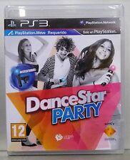 DANCESTAR PARTY - PLAYSTATION 3 - PAL ESPAÑA - COMPLETO - CD FÍSICO