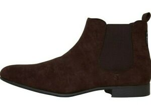 MENS BEN SHERMAN BROWN ASHORNE CHELSEA BOOTS SUEDE  ANKLE BOOT SHOE UK 7
