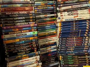 DISNEY KIDS DVD Movie Lot ANIMATED $3 Pick from any list-FREE SHIPPING after 1st