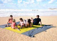 Big Picnic Blanket XXL Beach Mat By ANDVARI  10' x 9' Premium Ripstop Compact UK