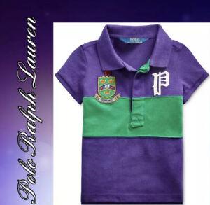 Brand New Polo Ralph Lauren Polo Shirt Girls.  Fall ll Purple, Sz Large 12-14