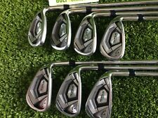 Callaway Rogue CF18 Irons 5-Pw + Aw with Project X 5.5 Firm Flex Shafts (5858)